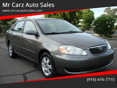 2007 Toyota Corolla for sale at Mr Carz Auto Sales in Sacramento CA