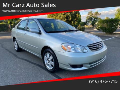 2004 Toyota Corolla for sale at Mr Carz Auto Sales in Sacramento CA