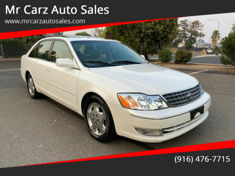 2003 Toyota Avalon for sale at Mr Carz Auto Sales in Sacramento CA