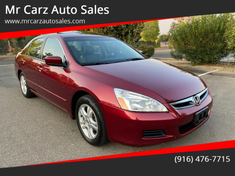 2006 Honda Accord for sale at Mr Carz Auto Sales in Sacramento CA