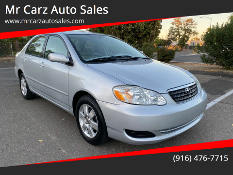 2008 Toyota Corolla for sale at Mr Carz Auto Sales in Sacramento CA