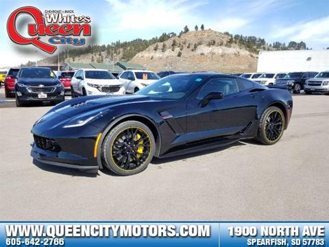 New chevrolet corvette for sale in south dakota for Queen city motors spearfish south dakota