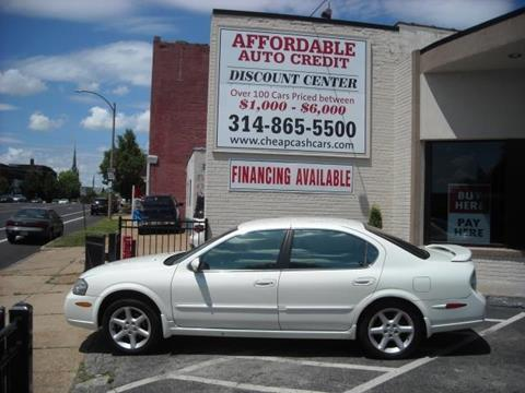2002 Nissan Maxima for sale in Saint Louis, MO