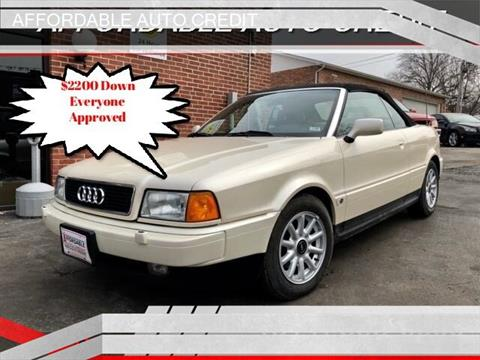 1996 Audi Cabriolet for sale in Saint Louis, MO