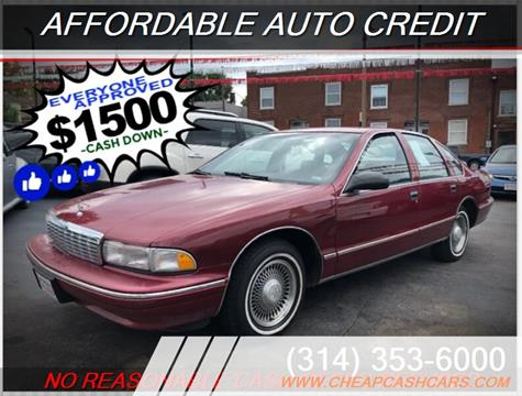 1995 Chevrolet Caprice for sale in Saint Louis, MO