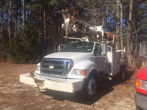 2009 Ford F750 Digger - Pole Grabber for sale in Hope, AR