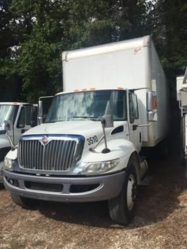 2013 International Box Truck (2) 4300 for sale in Hope, AR