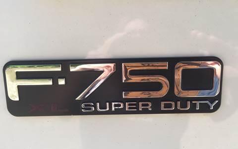 2004 Ford F-750 Super Duty