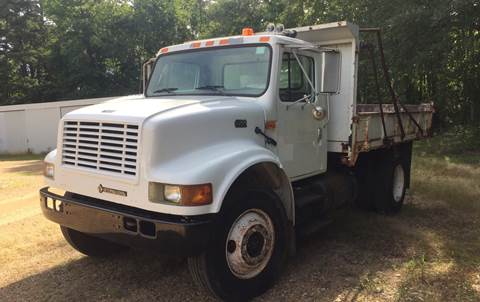 2001 International 4700 Flatbed Dump Truck for sale in Hope, AR