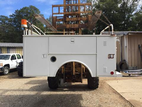 Altec Service Bed Altec for sale at M & W MOTOR COMPANY in Hope AR