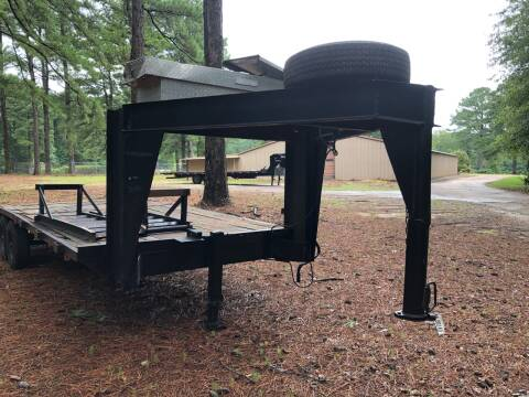Gooseneck Trailer for sale at M & W MOTOR COMPANY in Hope AR