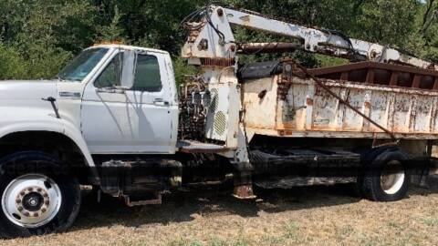 1996 Ford F-800 for sale at M & W MOTOR COMPANY in Hope AR