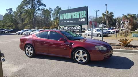 Windham Motors Florence >> Pontiac Grand Prix For Sale in South Carolina - Carsforsale.com