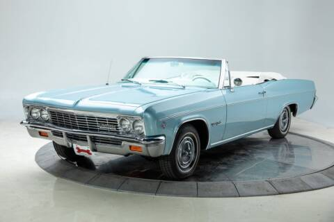 1966 Chevrolet Impala for sale at Duffy's Classic Cars in Cedar Rapids IA