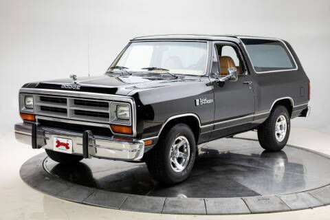 1989 Dodge Ramcharger for sale at Duffy's Classic Cars in Cedar Rapids IA