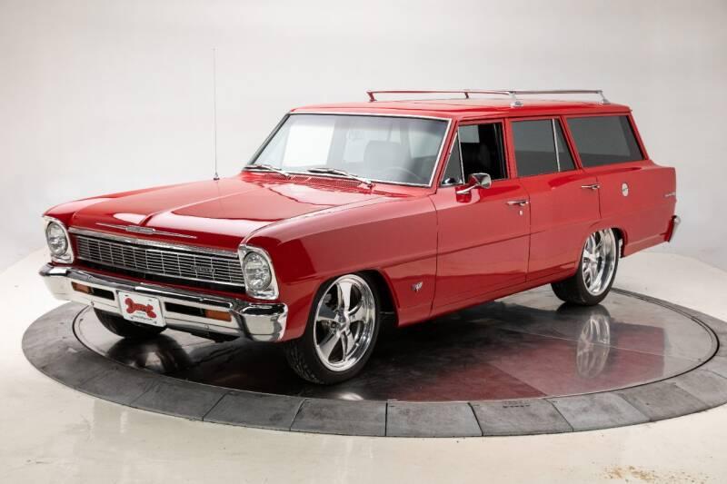 1966 Chevrolet Nova for sale at Duffy's Classic Cars in Cedar Rapids IA