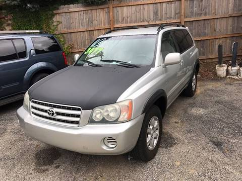 2003 Toyota Highlander for sale in Greenwood, IN