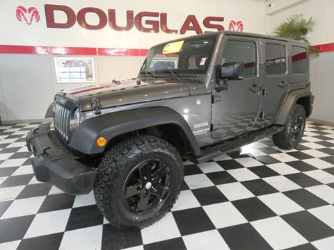 2017 Jeep Wrangler Unlimited for sale in Clinton, IL