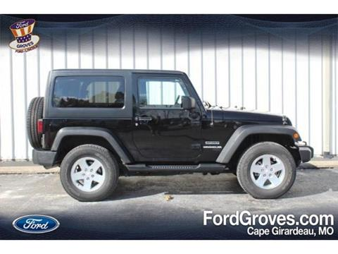 2012 Jeep Wrangler for sale in Jackson, MO