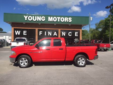 2011 ram ram pickup for sale in alabama for Young motors boaz al