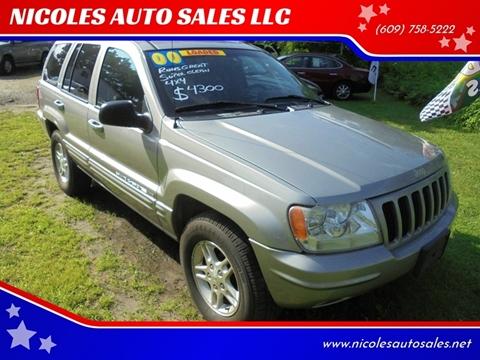 2000 Jeep Grand Cherokee for sale in Cream Ridge, NJ