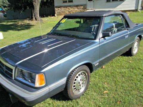 1986 Dodge 600 for sale at NICOLES AUTO SALES LLC in Cream Ridge NJ