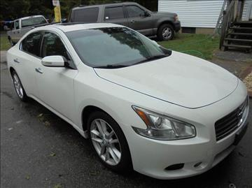 2009 Nissan Maxima for sale at NICOLES AUTO SALES LLC in Cream Ridge NJ