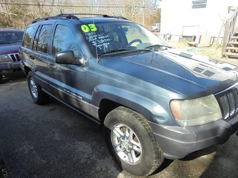 2003 Jeep Grand Cherokee for sale in Cream Ridge, NJ