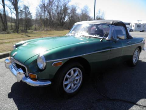 1980 MG MGB for sale in Lenoir, NC