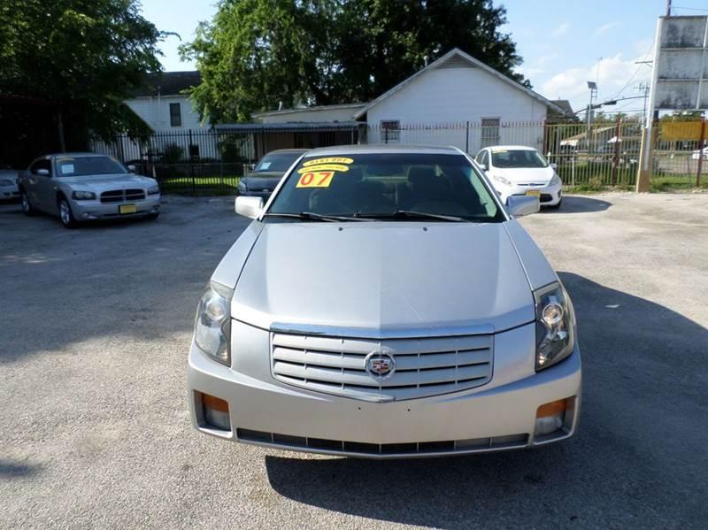 2007 Cadillac CTS for sale at David Morgin Credit in Houston TX