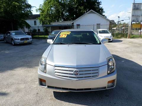 2007 Cadillac CTS for sale at David Morgin Credit in Houston TX