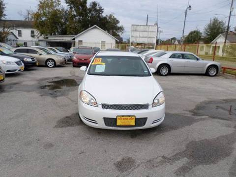 2010 Chevrolet Impala for sale at David Morgin Credit in Houston TX