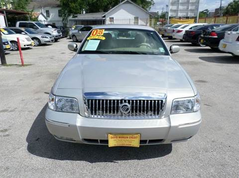 2008 Mercury Grand Marquis for sale at David Morgin Credit in Houston TX