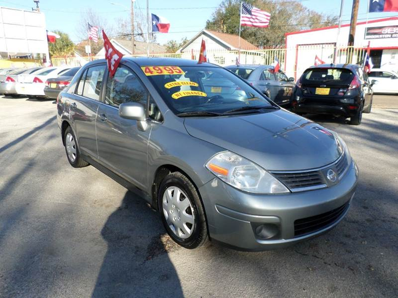 2008 Nissan Versa for sale at David Morgin Credit in Houston TX