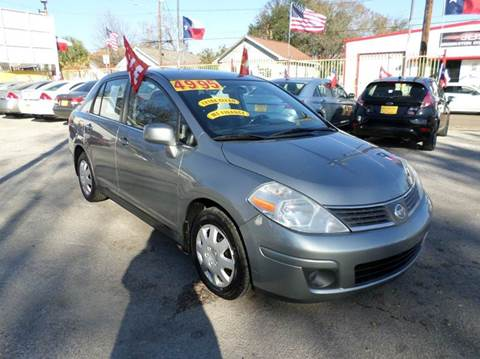 2008 Nissan Versa for sale at David Morgin Credit in Houston TX
