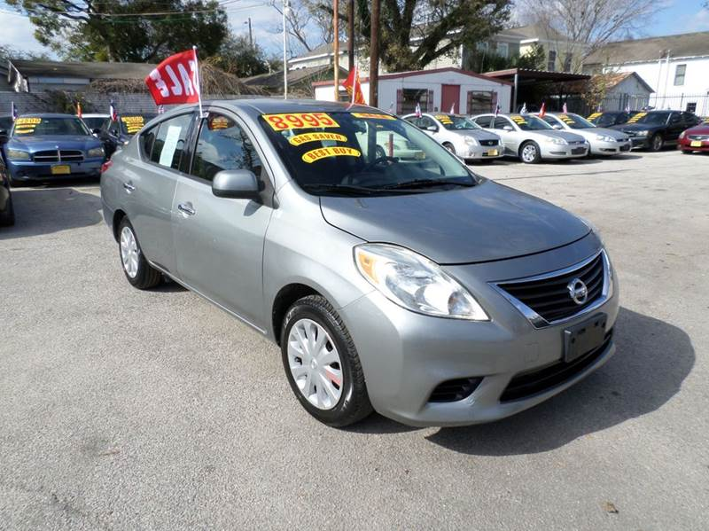 2014 Nissan Versa for sale at David Morgin Credit in Houston TX