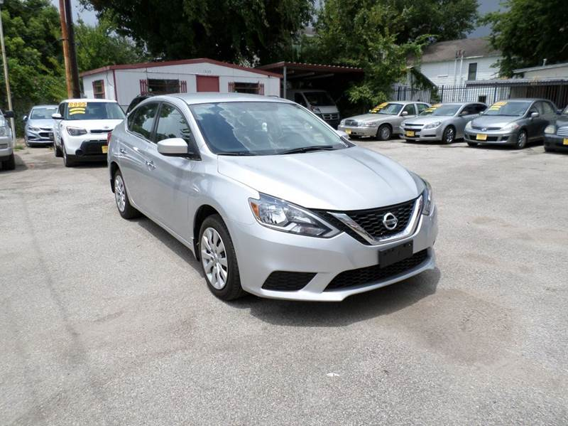 2016 Nissan Sentra for sale at David Morgin Credit in Houston TX