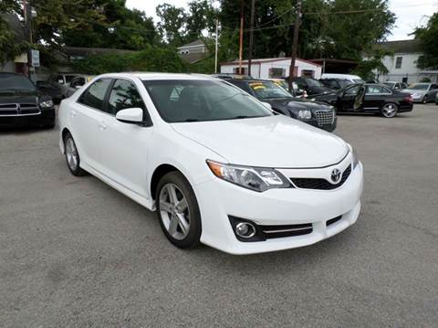 2014 Toyota Camry for sale at David Morgin Credit in Houston TX