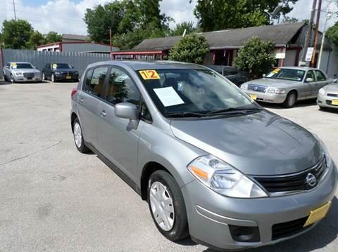 2011 Nissan Versa for sale at David Morgin Credit in Houston TX