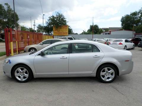 2011 Chevrolet Malibu for sale at David Morgin Credit in Houston TX