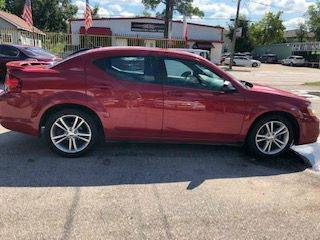 2013 Dodge Avenger for sale at David Morgin Credit in Houston TX