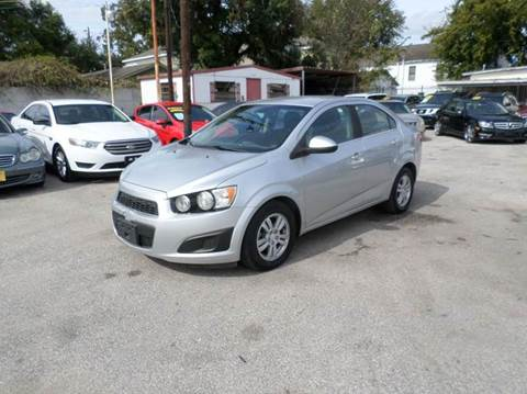 2012 Chevrolet Sonic for sale at David Morgin Credit in Houston TX