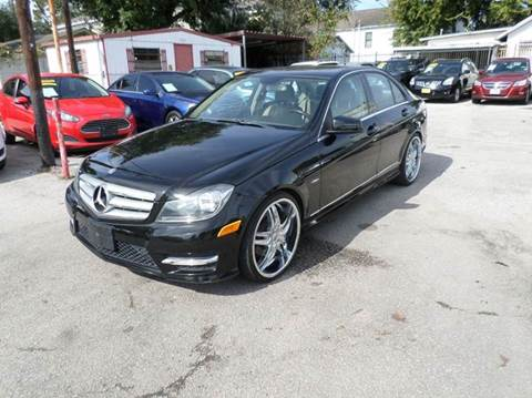2012 Mercedes-Benz C-Class for sale at David Morgin Credit in Houston TX