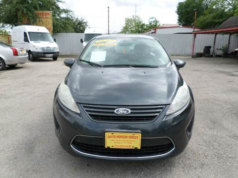2011 Ford Fiesta for sale at David Morgin Credit in Houston TX