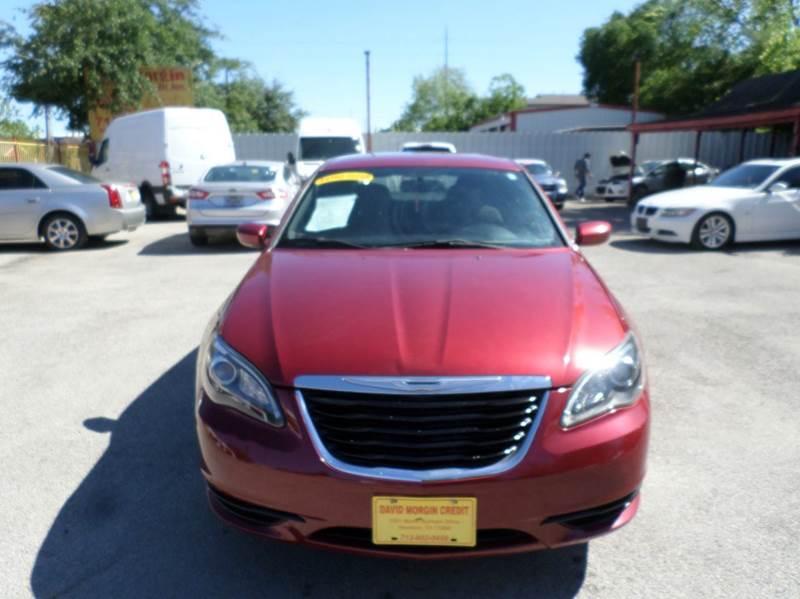 2013 Chrysler 200 for sale at David Morgin Credit in Houston TX