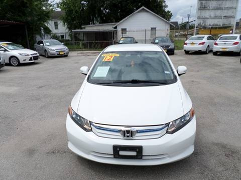 2012 Honda Civic for sale in Houston, TX