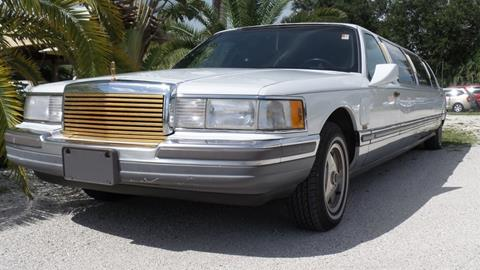 1990 Lincoln Town Car For Sale Carsforsale Com