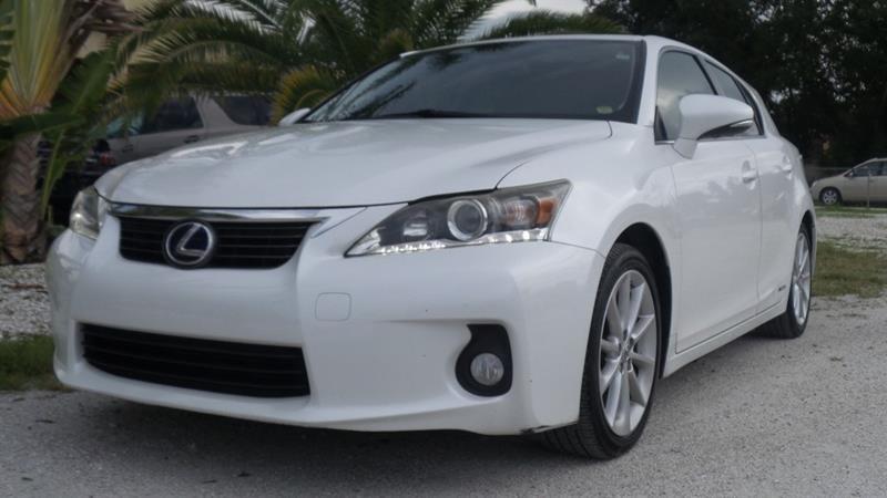 2012 Lexus CT 200h 200H   Fort Myers FL
