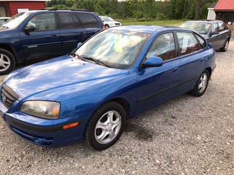 2004 Hyundai Elantra for sale at Simon Automotive in East Palestine OH