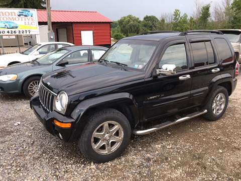 2003 Jeep Liberty for sale at Simon Automotive in East Palestine OH